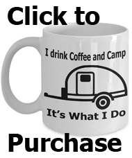 drink coffee and camp mug