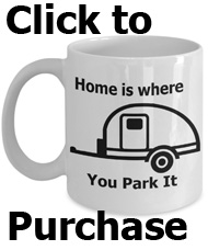 home is where you park it mug