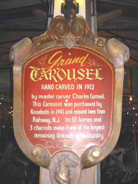 Grand Carousel Sign